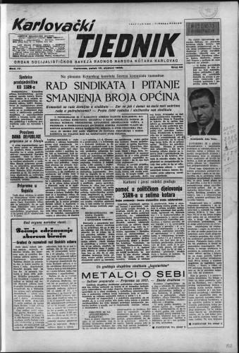 Karlovački tjednik: 1956 • 46