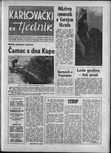 Karlovački tjednik: 1970 • 32