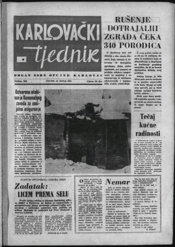 Karlovački tjednik: 1964 • 2