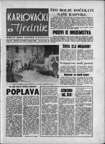 Karlovački tjednik: 1966 • 48