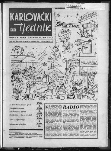 Karlovački tjednik: 1967 • 51
