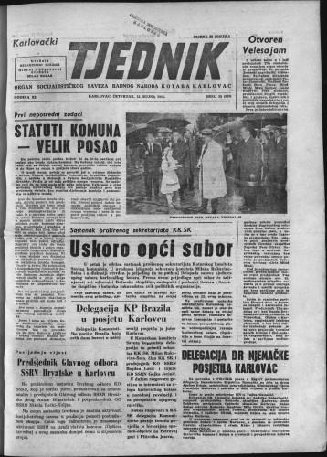 Karlovački tjednik: 1963 • 35