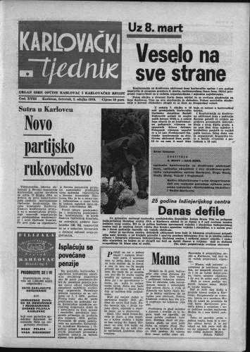 Karlovački tjednik: 1970 • 9