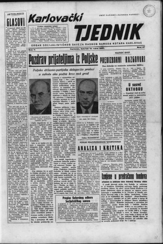 Karlovački tjednik: 1957 • 37
