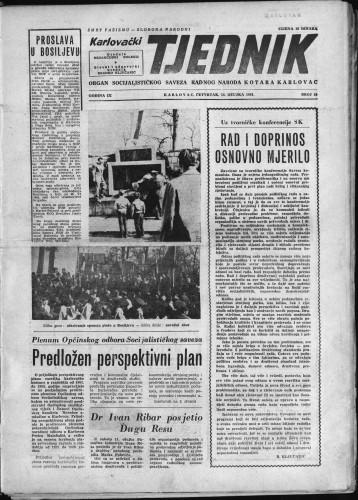 Karlovački tjednik: 1961 • 10