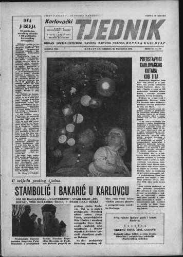 Karlovački tjednik: 1960 • 50