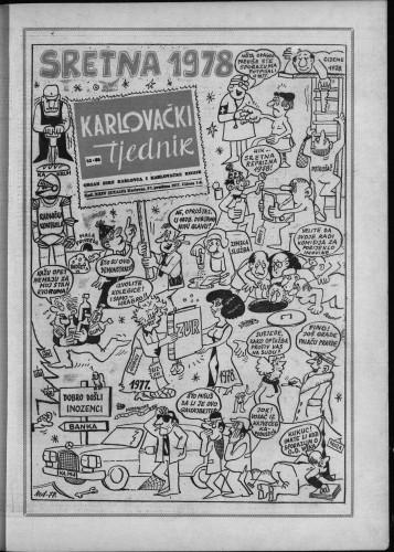 Karlovački tjednik: 1977 • 52