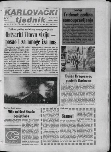 Karlovački tjednik: 1980 • 25