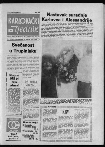 Karlovački tjednik: 1975 • 33