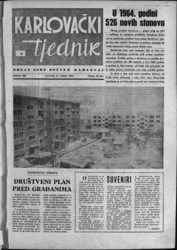 Karlovački tjednik: 1964 • 5