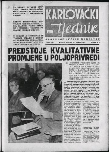 Karlovački tjednik: 1964 • 41