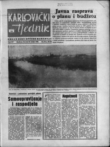 Karlovački tjednik: 1966 • 11