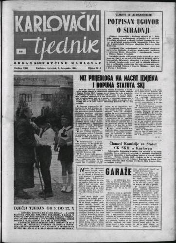 Karlovački tjednik: 1964 • 40