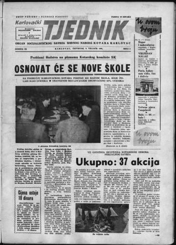 Karlovački tjednik: 1961 • 5