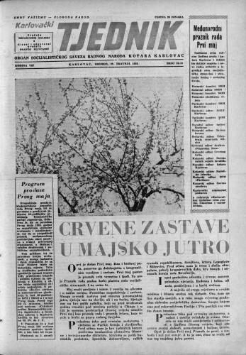 Karlovački tjednik: 1959 • 18