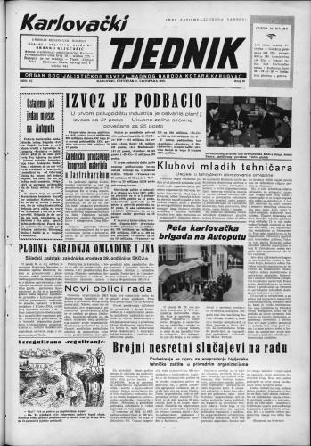 Karlovački tjednik: 1958 • 40