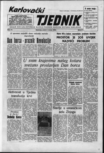 Karlovački tjednik: 1956 • 27