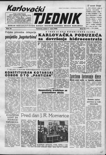 Karlovački tjednik: 1955 • 36