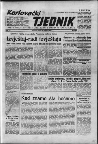 Karlovački tjednik: 1956 • 45