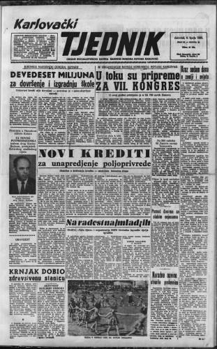 Karlovački tjednik: 1957 • 23