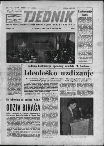 Karlovački tjednik: 1960 • 6