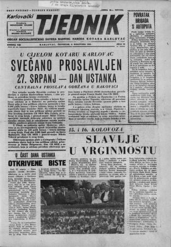Karlovački tjednik: 1959 • 32