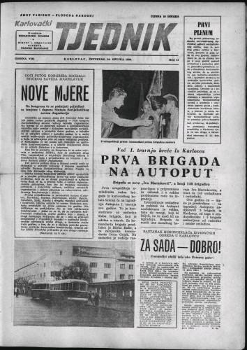 Karlovački tjednik: 1960 • 11