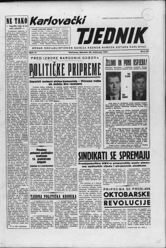 Karlovački tjednik: 1957 • 35