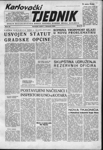 Karlovački tjednik: 1955 • 40