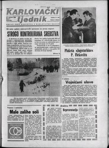 Karlovački tjednik: 1980 • 2
