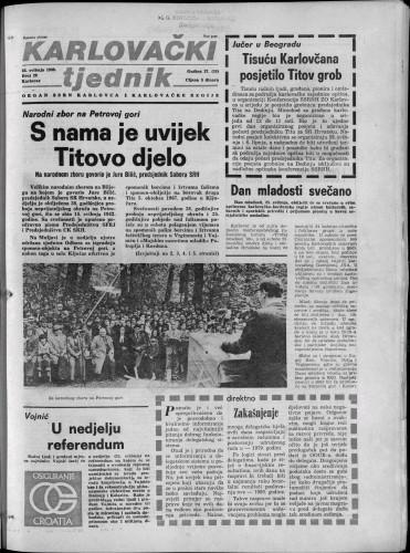 Karlovački tjednik: 1980 • 20