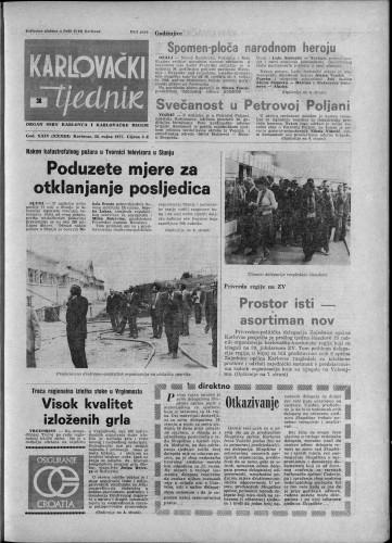 Karlovački tjednik: 1977 • 38