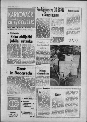 Karlovački tjednik: 1976 • 8