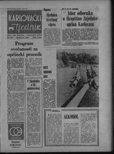 Karlovački tjednik: 1974 • 46