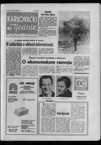 Karlovački tjednik: 1975 • 44