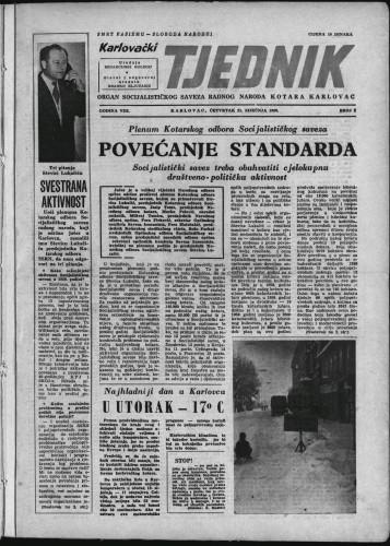 Karlovački tjednik: 1960 • 2