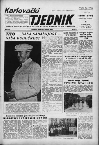Karlovački tjednik: 1955 • 21