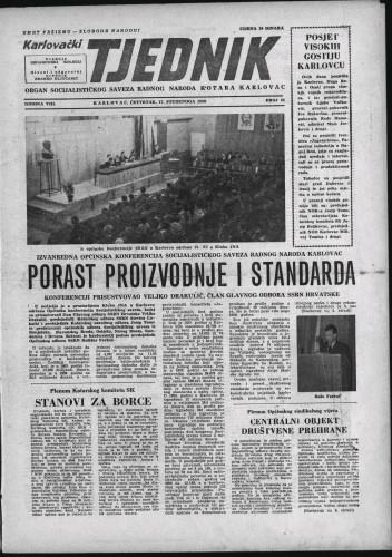 Karlovački tjednik: 1960 • 45
