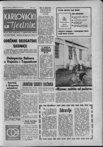Karlovački tjednik: 1976 • 24