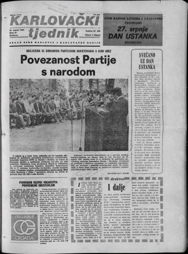 Karlovački tjednik: 1980 • 29