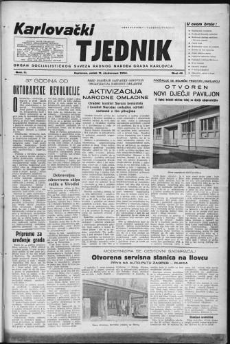 Karlovački tjednik: 1954 • 46