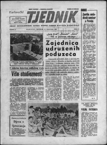 Karlovački tjednik: 1962 • 32