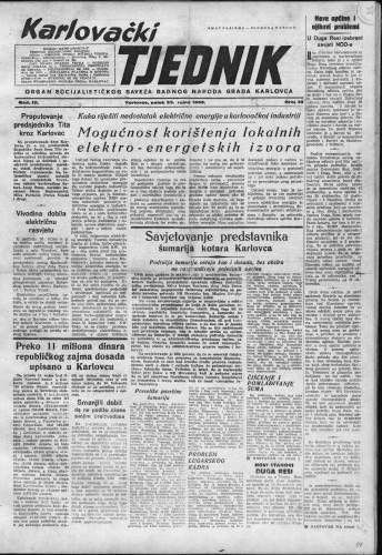 Karlovački tjednik: 1955 • 38