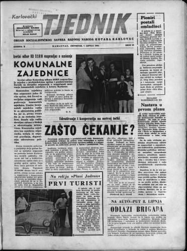 Karlovački tjednik: 1962 • 22