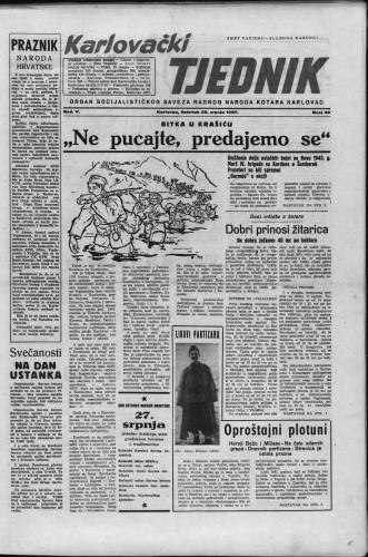 Karlovački tjednik: 1957 • 30