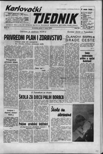 Karlovački tjednik: 1956 • 36
