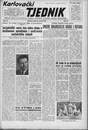 Karlovački tjednik: 1955 • 15
