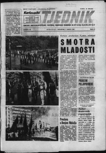 Karlovački tjednik: 1961 • 21