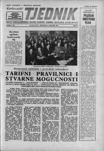 Karlovački tjednik: 1959 • 6