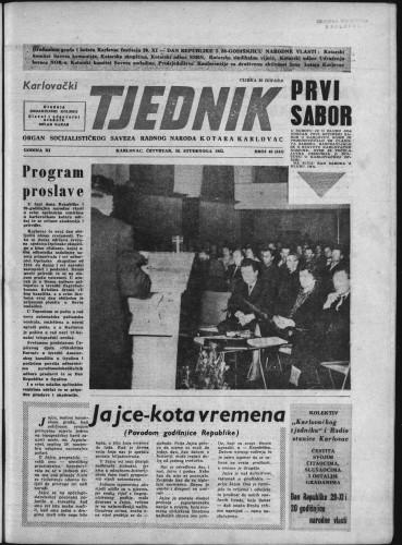 Karlovački tjednik: 1963 • 46